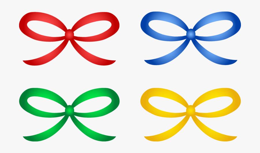 4 Ribbon Clipart, Transparent Clipart