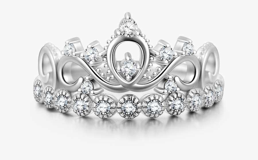 Silver Tiara Png - Princess Silver Crown Png, Transparent Clipart