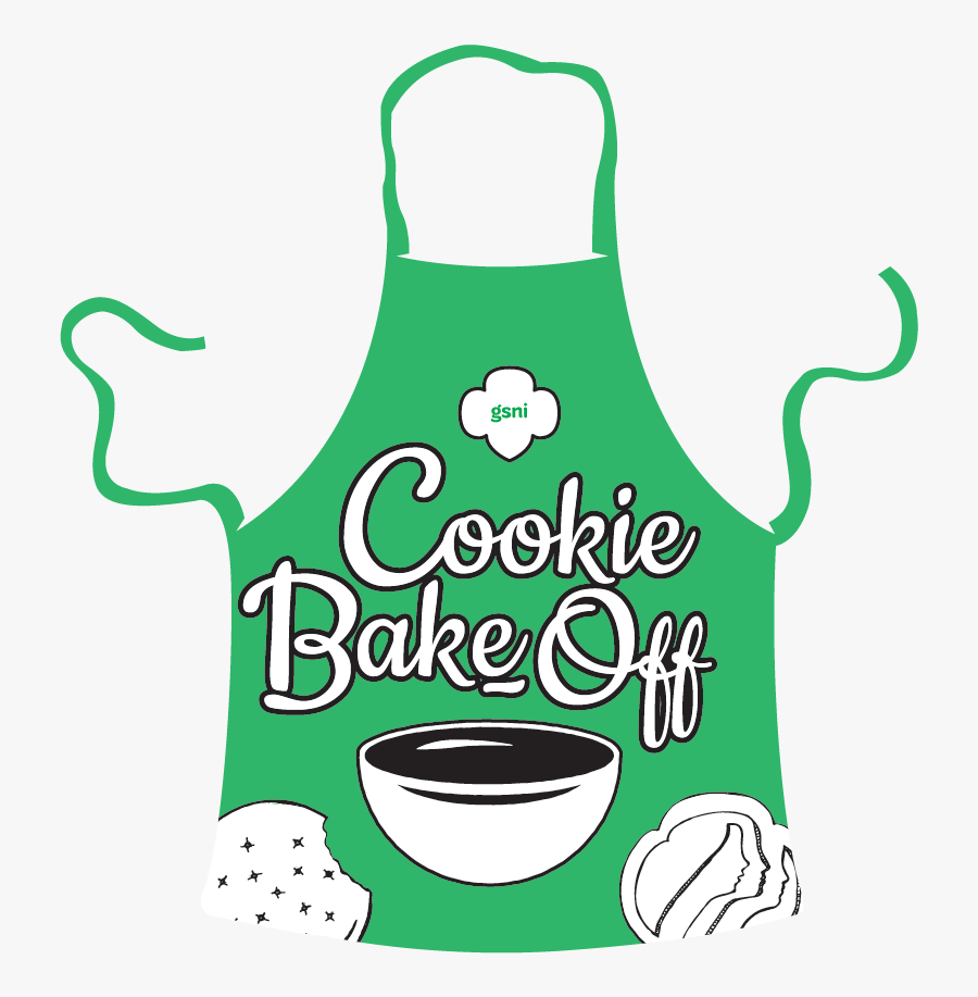 Cookiebakeoff-apron2 - Girl Scout Bake Off, Transparent Clipart