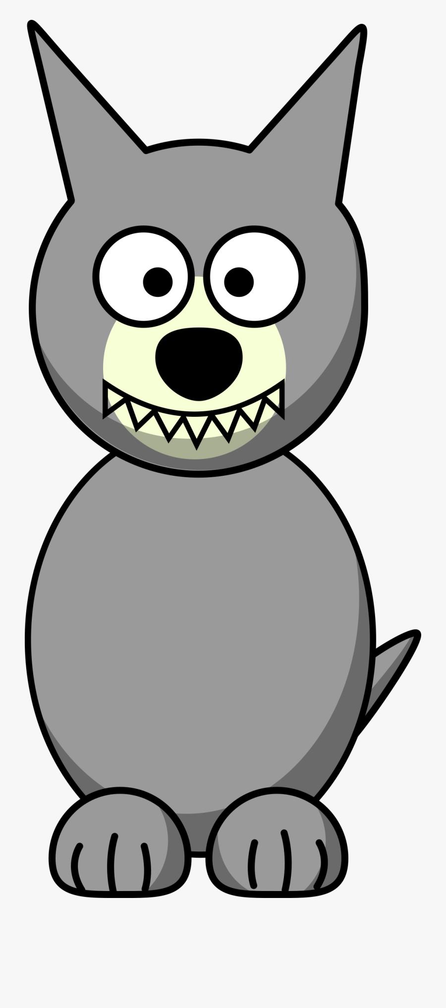 Wolf Cartoon Png - Cartoon Wolf Clipart, Transparent Clipart