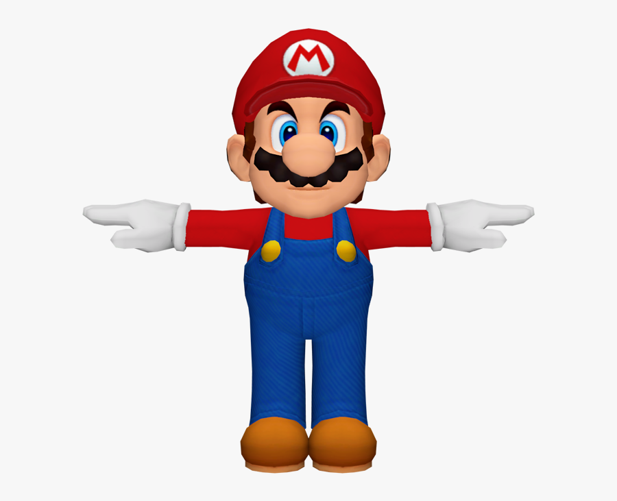 Download Zip Archive - Super Mario Sunshine Model, Transparent Clipart