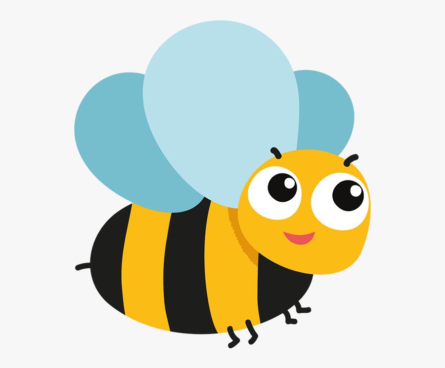 Clip Art Bee Kind - Cute Bee, Transparent Clipart