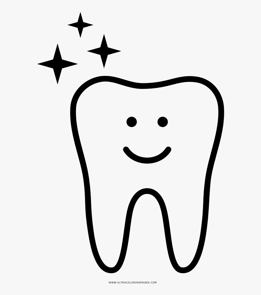 Desenho Dente Png Desenho De Dente Para Colorir Free