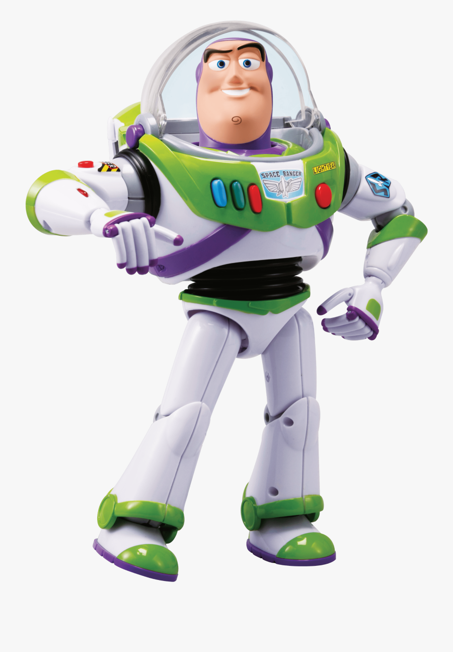 Toy Story 4 Life Size Talking Buzz Lightyear Action - Toy Story 4 Png, Transparent Clipart