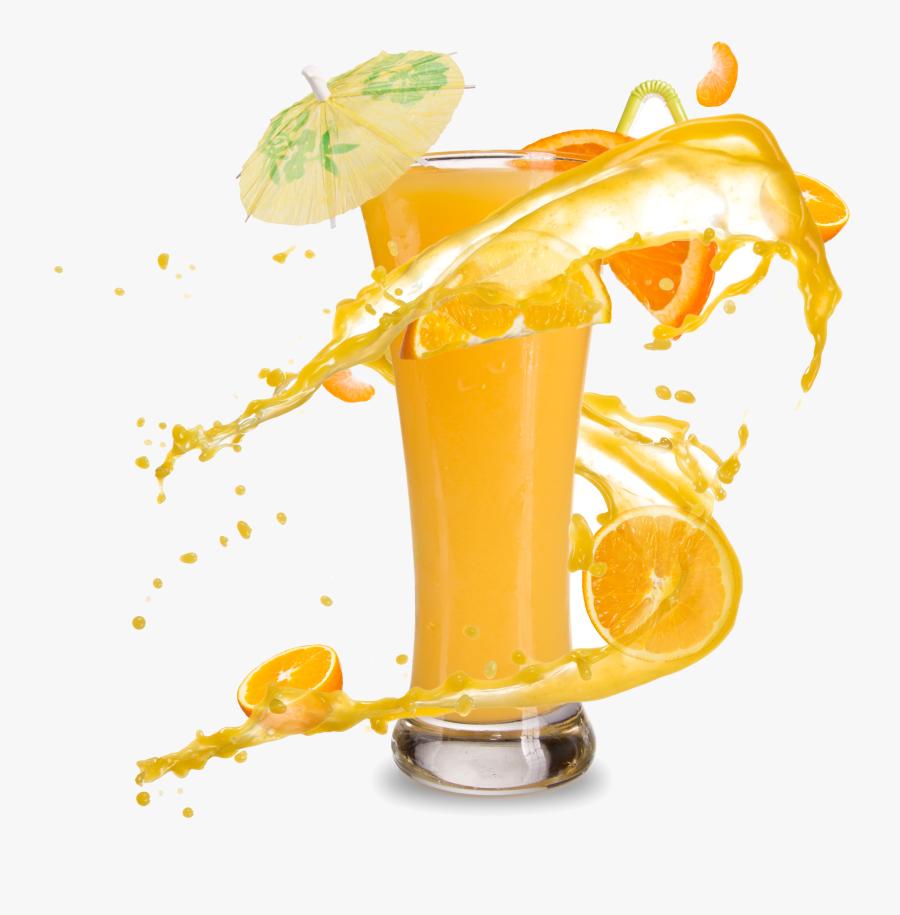 Orange Juice Smoothie Cocktail Soft Drink - Orange Juice Hd Png, Transparent Clipart