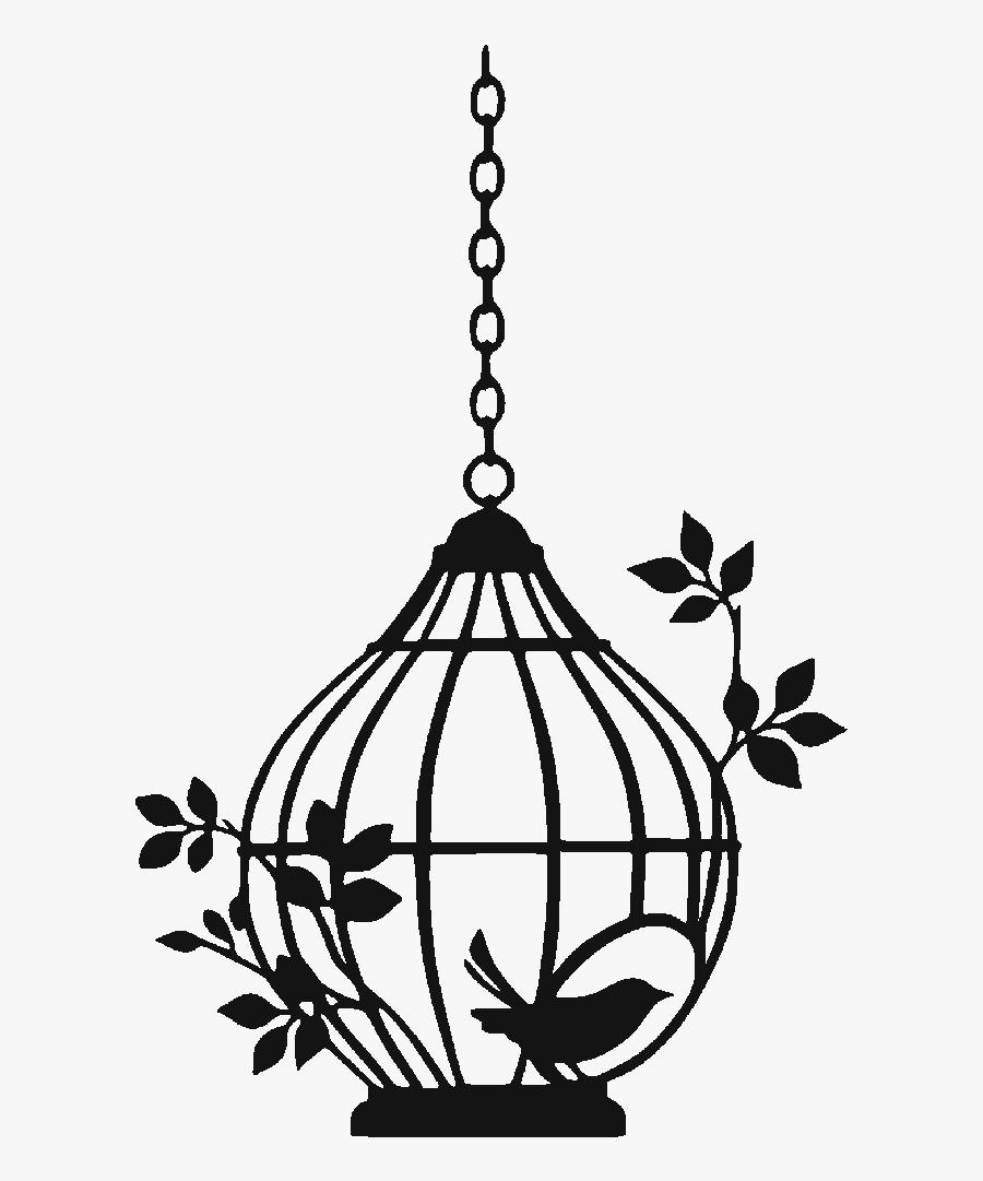 Birdcage Clip Art Vector Graphics - Bird Cages Vector, Transparent Clipart