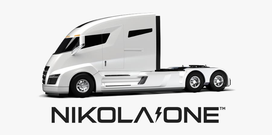 Nikola One Logo2 - Nel Hydrogen Fueling Station, Transparent Clipart