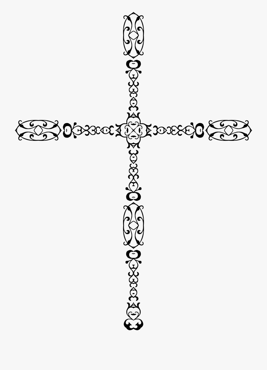 Transparent Crucifix Png - Cross, Transparent Clipart