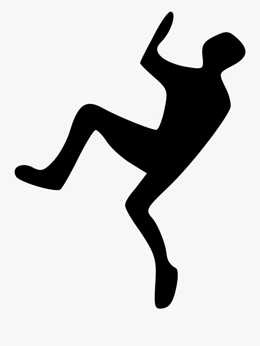 Clip Art File Climber Svg Wikimedia - Climber Silhouette, Transparent Clipart
