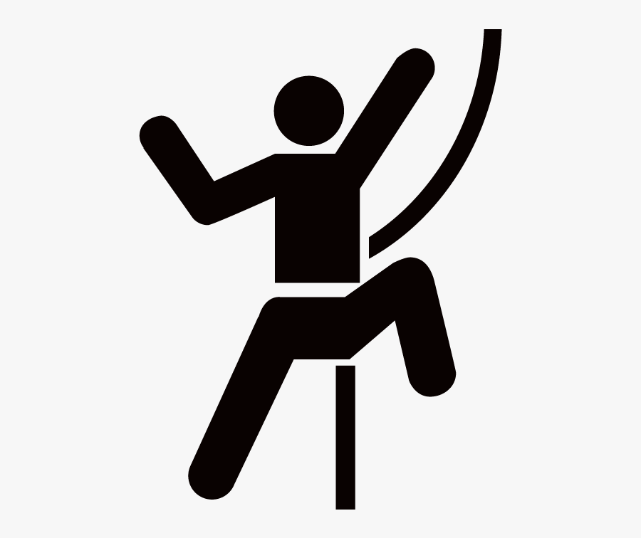 Rock Climbing Icon Clipart , Png Download - Rock Climbing Icon, Transparent Clipart