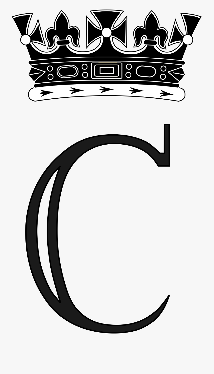 Crown Clipart Royal Monogram - Prince Harry Royal Monogram, Transparent Clipart