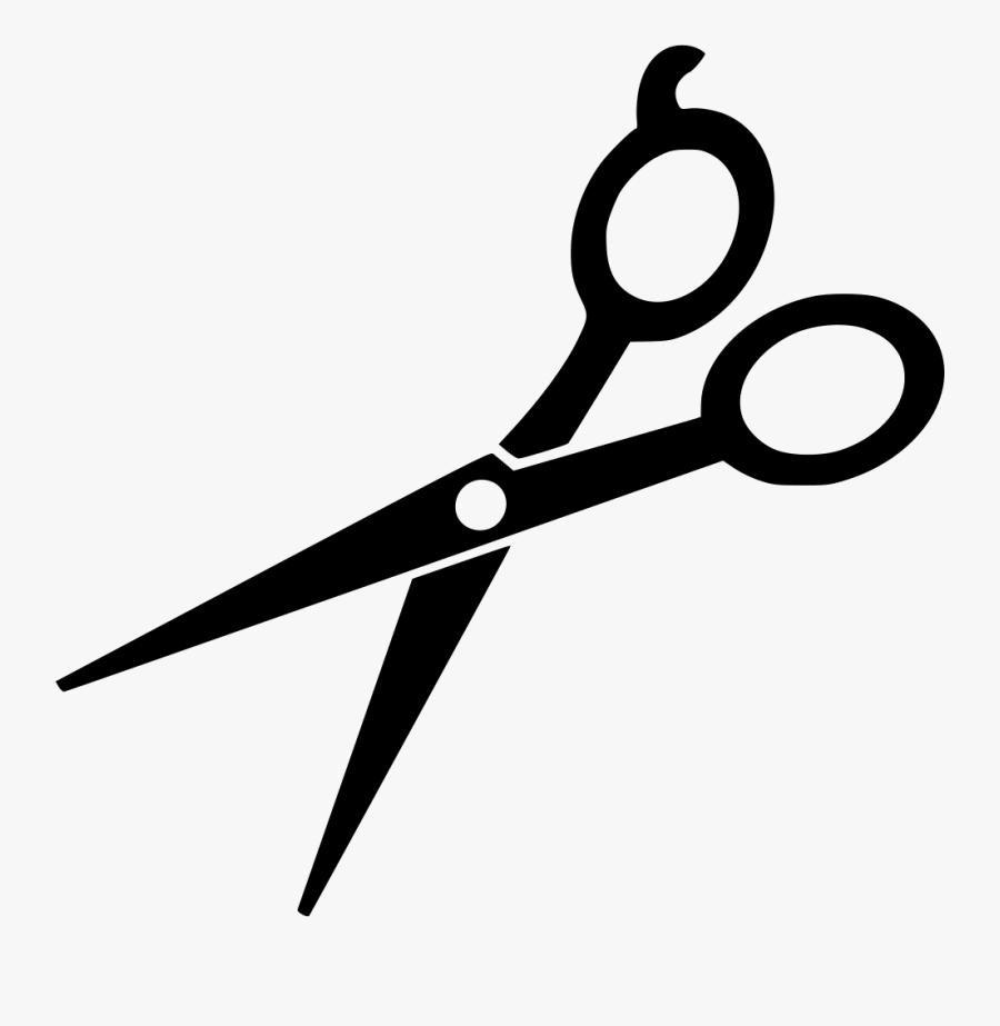 Scissor Svg Hair Style - Hair Cutting Scissors Svg , Free