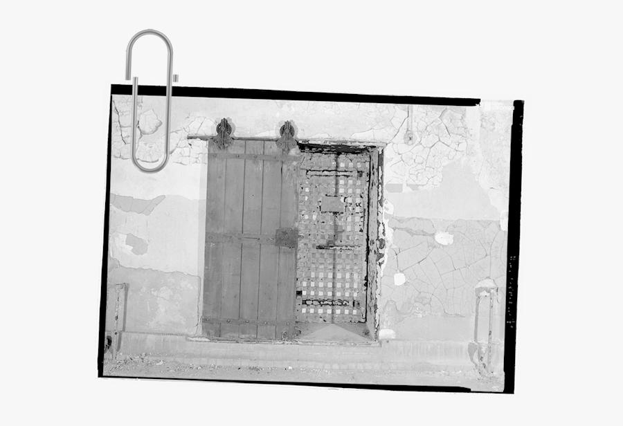 Transparent Jail Door Png - Monochrome, Transparent Clipart