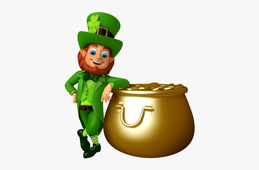 Download Patty S Patricks - Leprechaun St Patrick's Day Transparent Background, Transparent Clipart