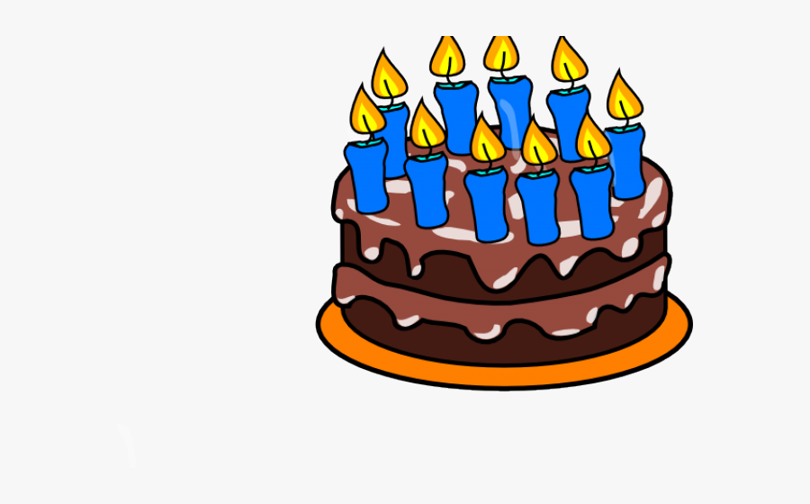 Birthday Cake Clip Art, Transparent Clipart