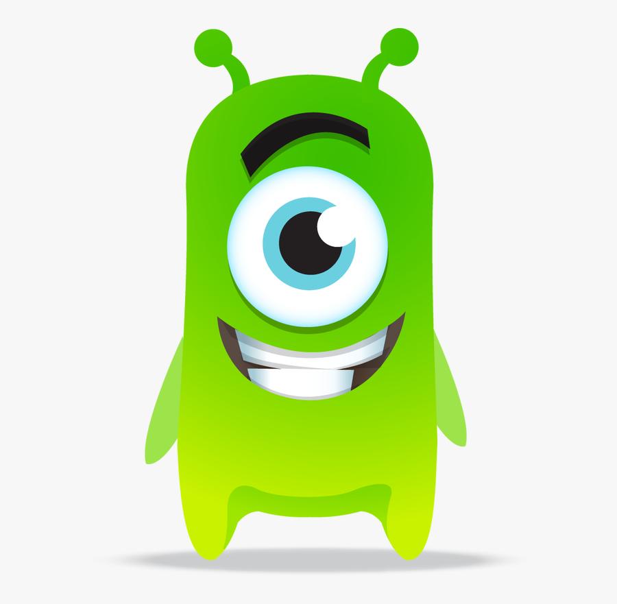 Class Dojo Monsters Clipart - Class Dojo Green Monsters, Transparent Clipart