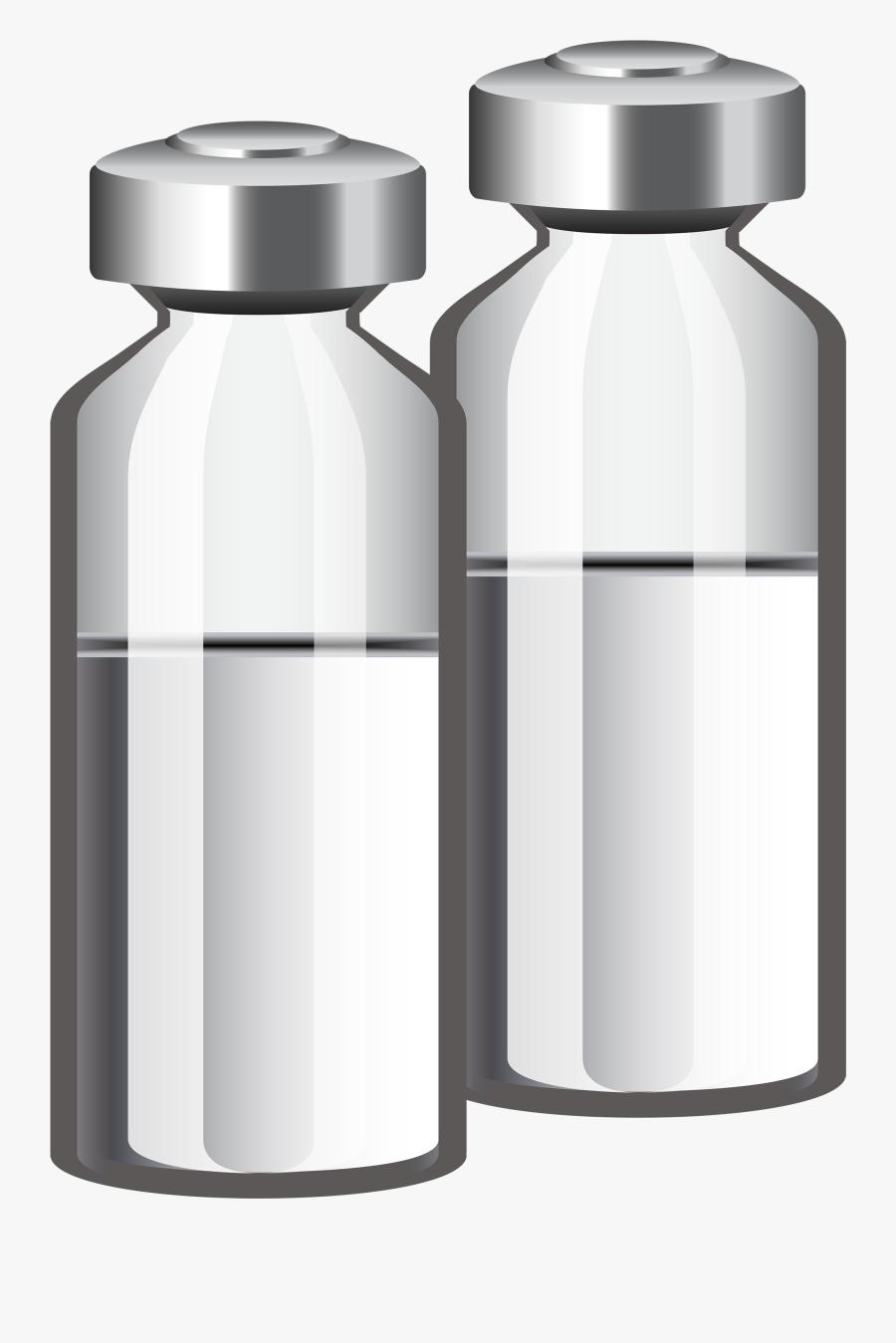 Medicine Ampoules Png Clipart - Medicine Ampoule Png, Transparent Clipart