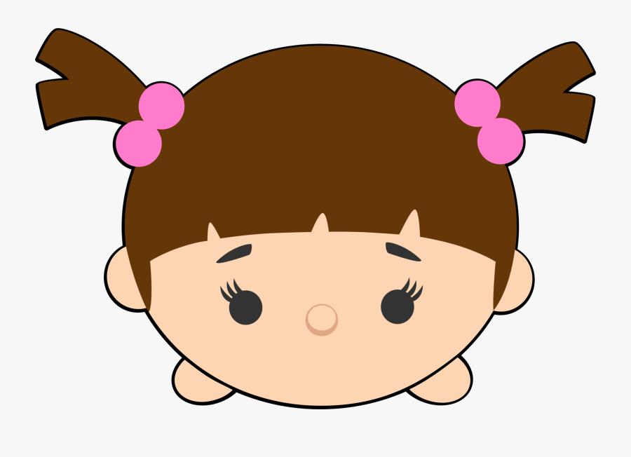 Disney Tsum Tsum Clipart - Disney Tsum Tsum Boo, Transparent Clipart