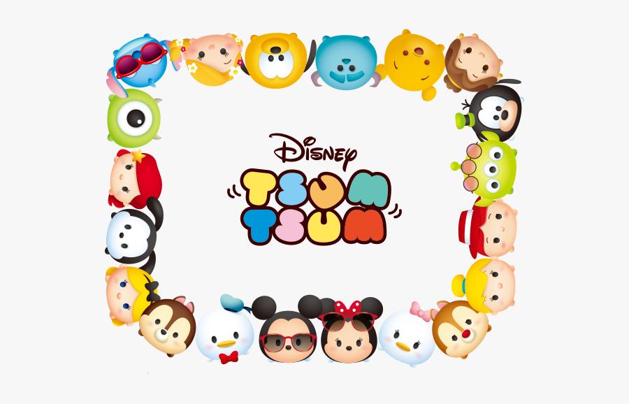 Kartun Disney Tsum Tsum, Transparent Clipart