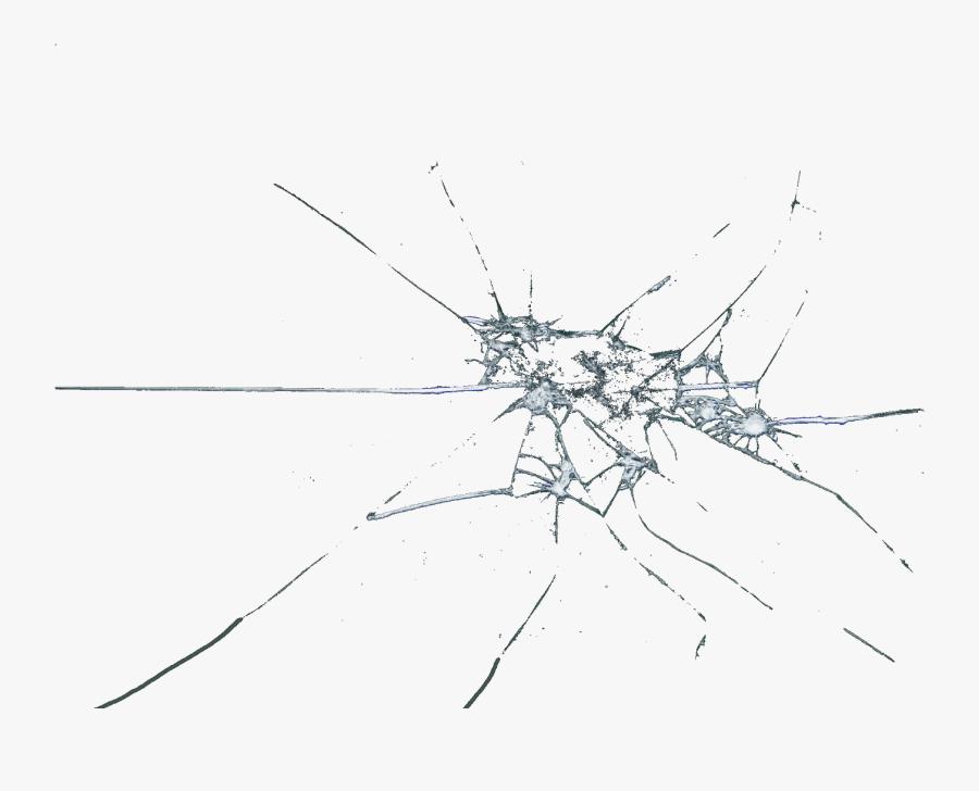 Clip Art Cracked Glass Clip Art - Transparent Png Broken Glass Png, Transparent Clipart