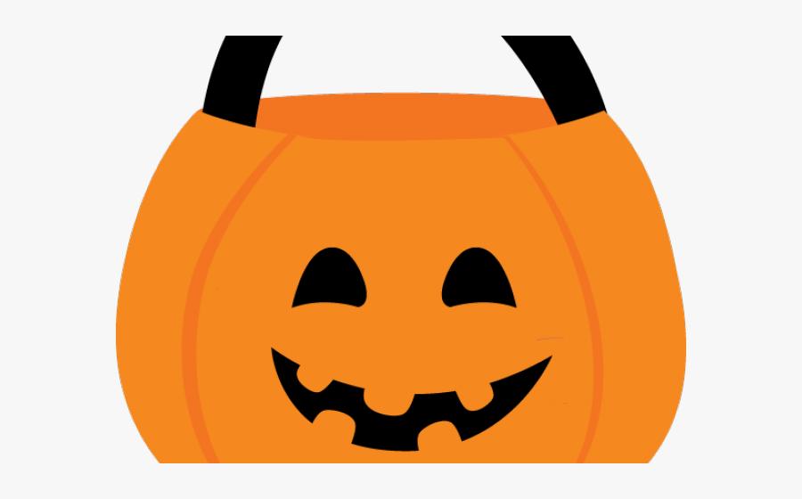 Halloween Candy Basket Clipart, Transparent Clipart