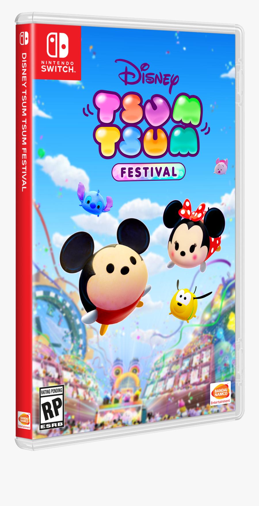 Disney Tsum Tsum Festival, Transparent Clipart