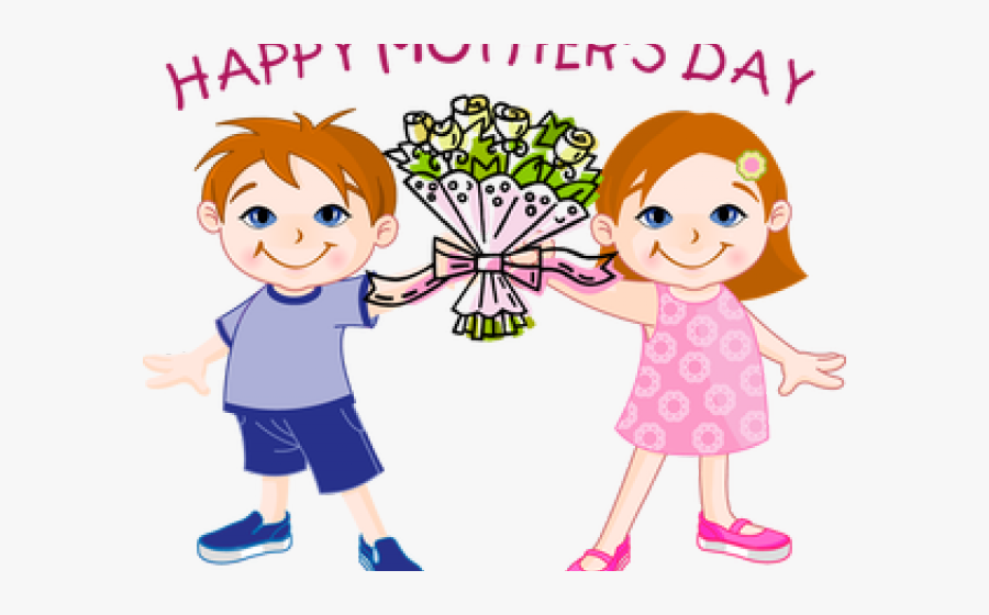 Mother`s Day Clipart May Crowning - Happy Mothers Day Maa, Transparent Clipart