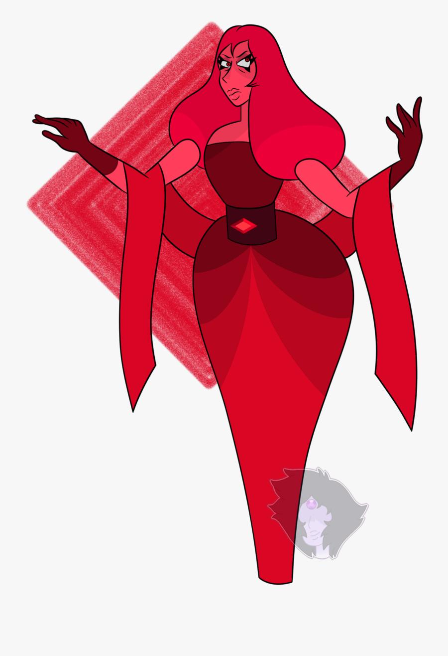 Red Diamond Clip Art - Red Steven Universe Purple Diamond, Transparent Clipart