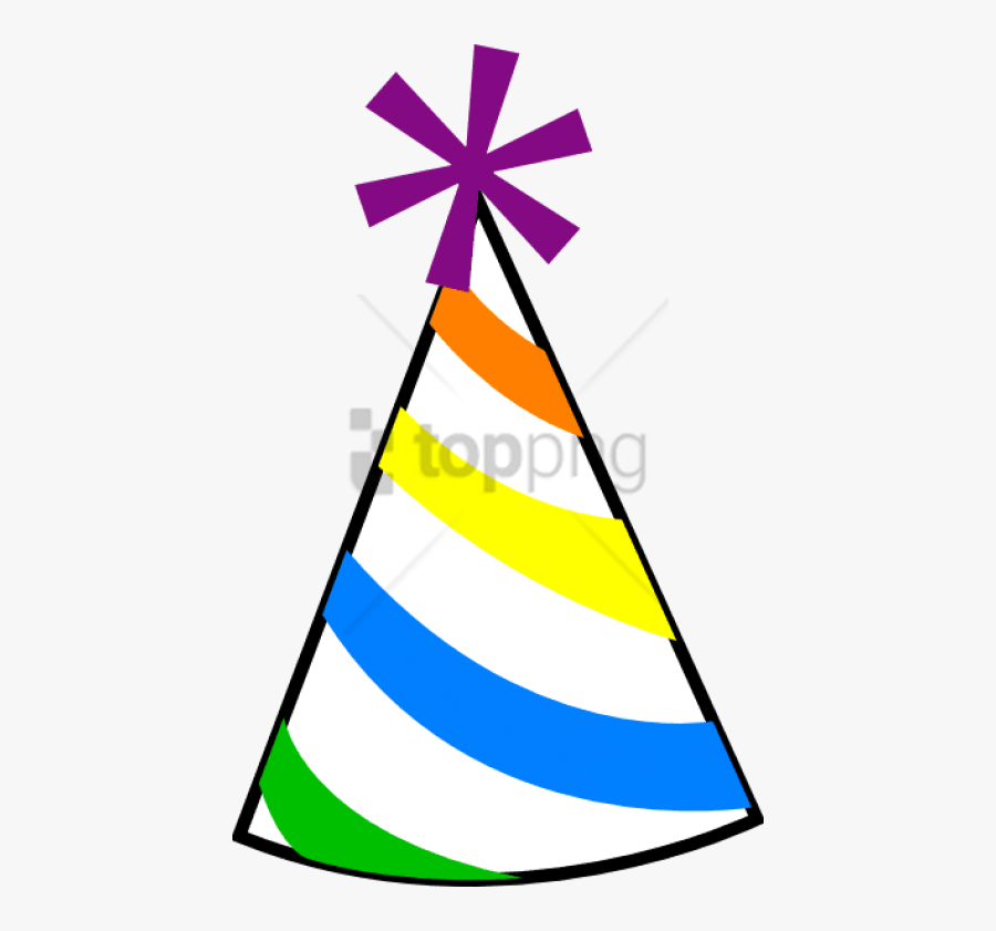 Download Birthday Png Images Background - Clipart Party Hat Png, Transparent Clipart