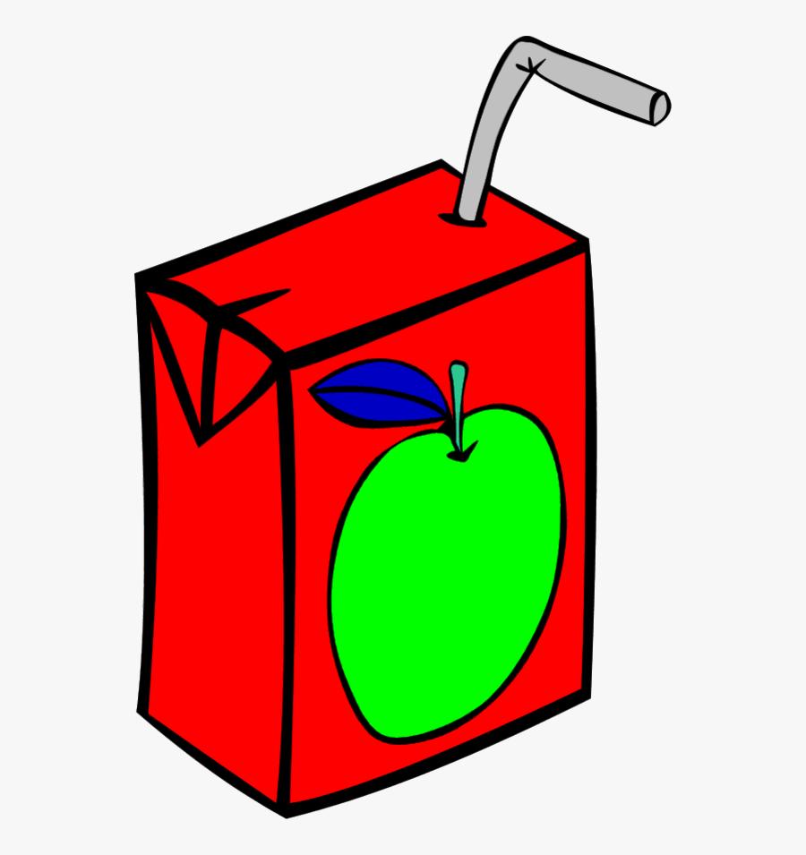 Picture Of Apple Juice - Juice Box, Transparent Clipart