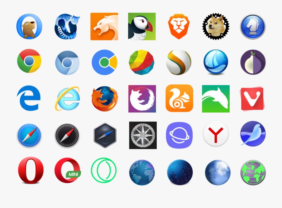 Web Browser, Transparent Clipart