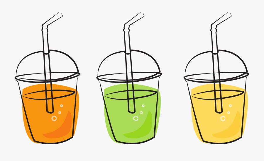 Juice Drinks Clipart, Transparent Clipart