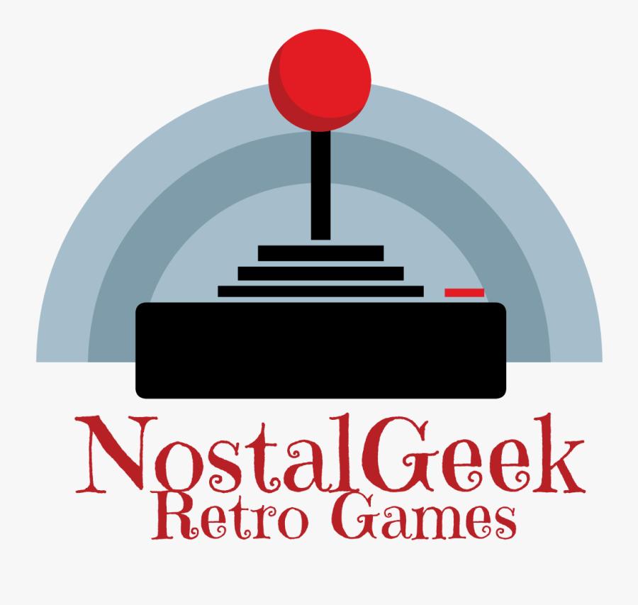 Nostalgeek Retro Video Games - Illustration, Transparent Clipart