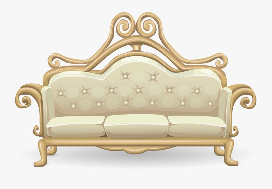 Fancy Sofa - Fancy Sofa Png, Transparent Clipart