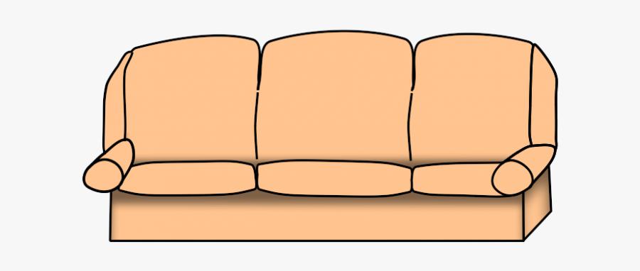 Couch Clipart Png - Transparent Couch Clipart, Transparent Clipart