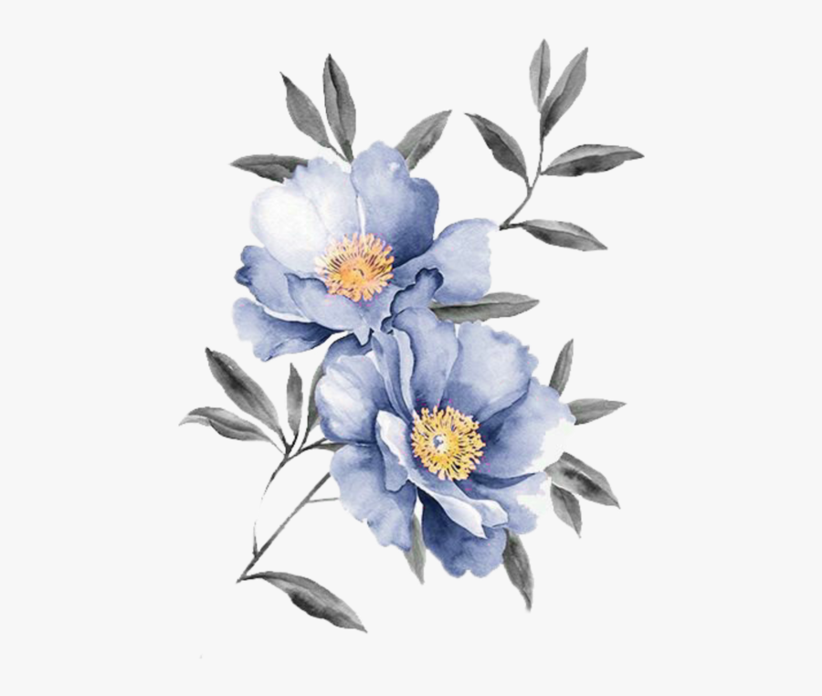 Illustration Flowers, Transparent Clipart