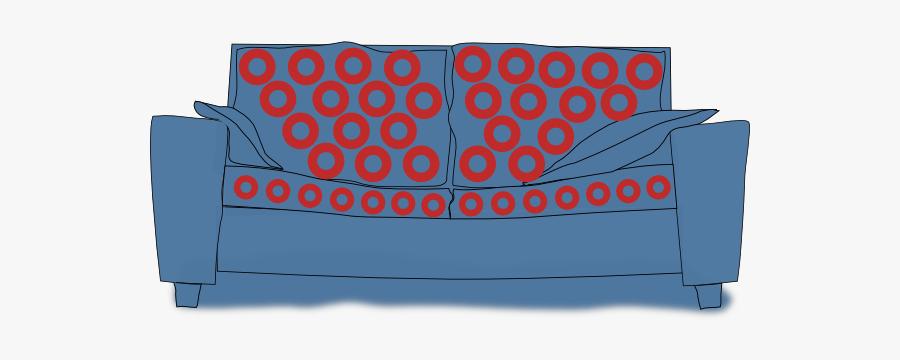 Couch Clip Art, Transparent Clipart