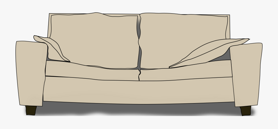 Angle,couch,table - Couch Clip Art, Transparent Clipart