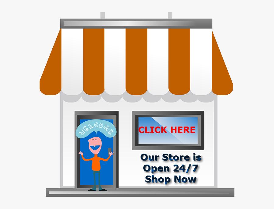 One Stop Shop Clipart, Transparent Clipart