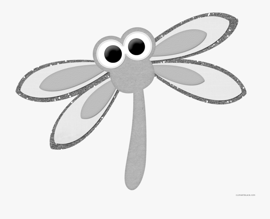 Drawing Clip Art Transprent - Transparent Dragonfly Cartoon Png, Transparent Clipart