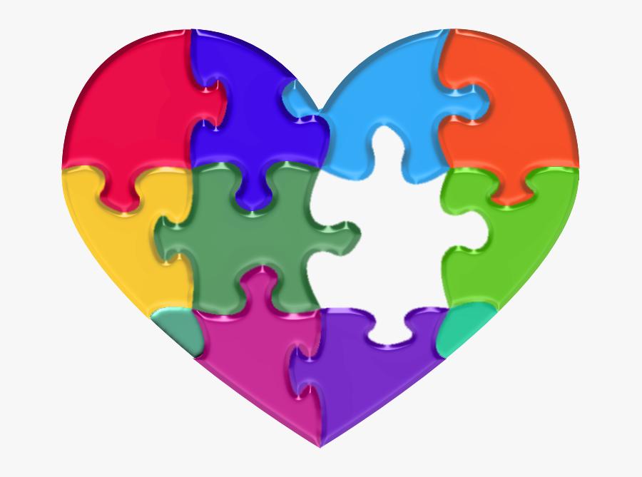 Transparent Autism Puzzle Piece Png - Autism Puzzle Piece Transparent, Transparent Clipart