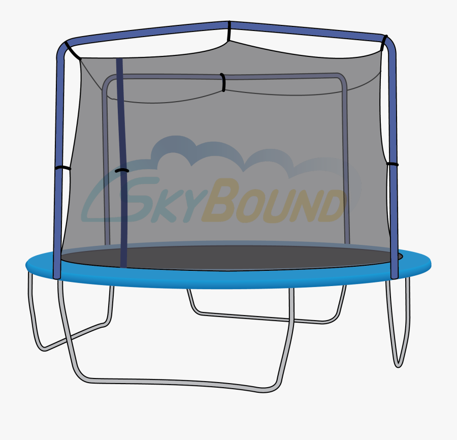 Transparent Jumping On Trampoline Clipart - Trampoline Jump, Transparent Clipart