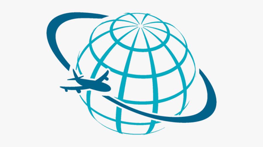 Vector Travel Agency Logo, Transparent Clipart