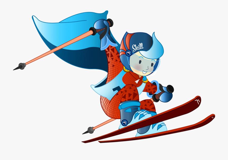 Superheld Skill - Cartoon, Transparent Clipart
