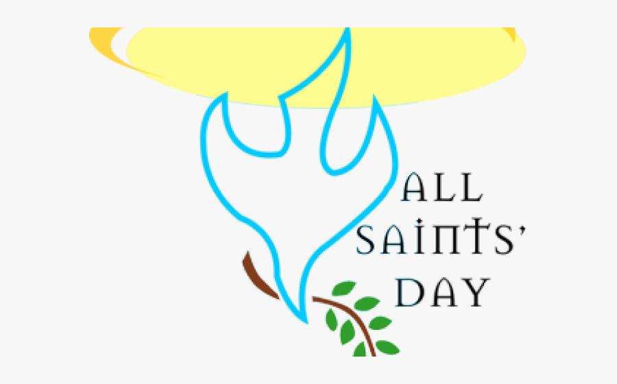 Clip Art All Saints Day Clip Art Free - November 1 St All Saints Day, Transparent Clipart
