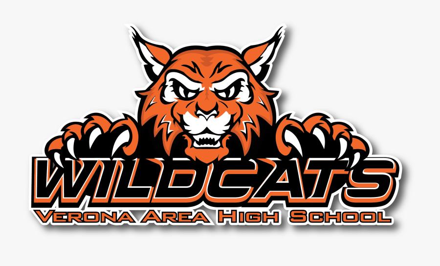 Verona Area High School Wildcats, Transparent Clipart
