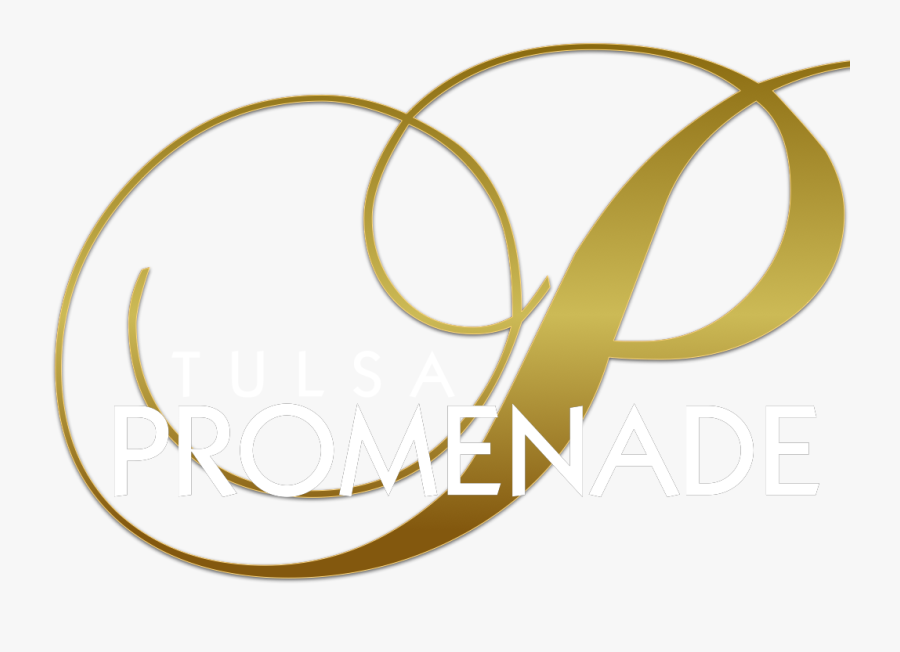 Tulsa Promenade Logo - Monogram Letter P, Transparent Clipart