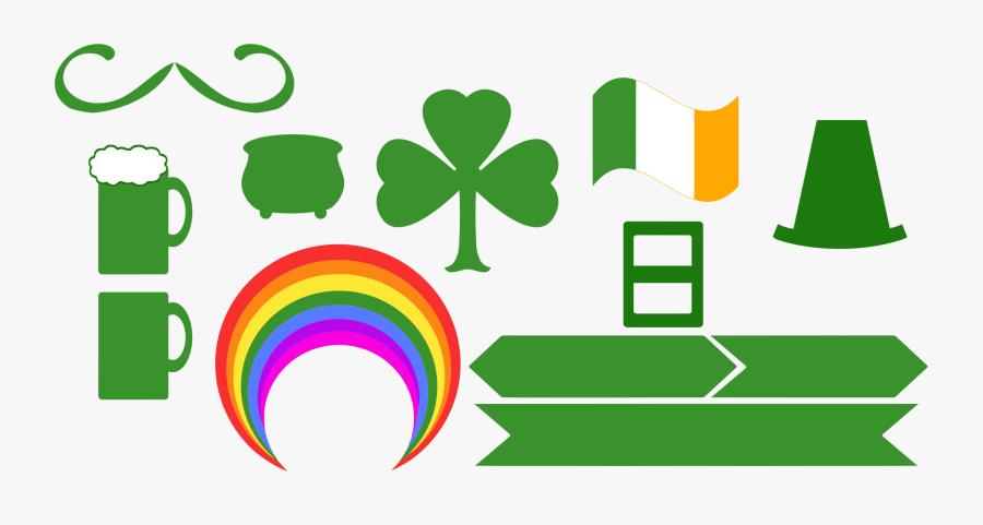 """Saint Patrick""""s Day Paraphernalia Clip Arts - Saint Patrick's Day, Transparent Clipart"""