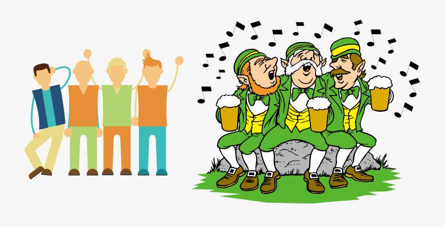 Ireland Wedding Invitation Saint Patricks Day March - We Are All Irish On St Patricks Day, Transparent Clipart