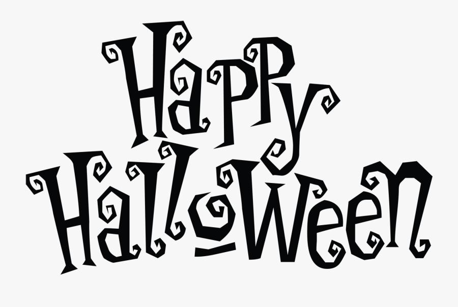 Transparent Happy Halloween Clip Art - Happy Halloween Clipart Transparent  Background , Free Transparent Clipart - ClipartKey
